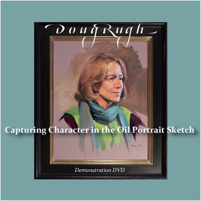 Instructional Portrait Painting DvD with Doug Rugh.