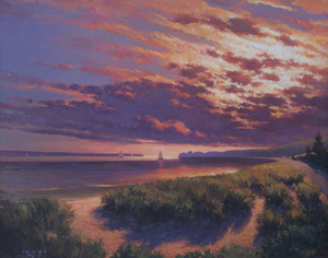 Cape Cod Oil Painting by Doug Rugh